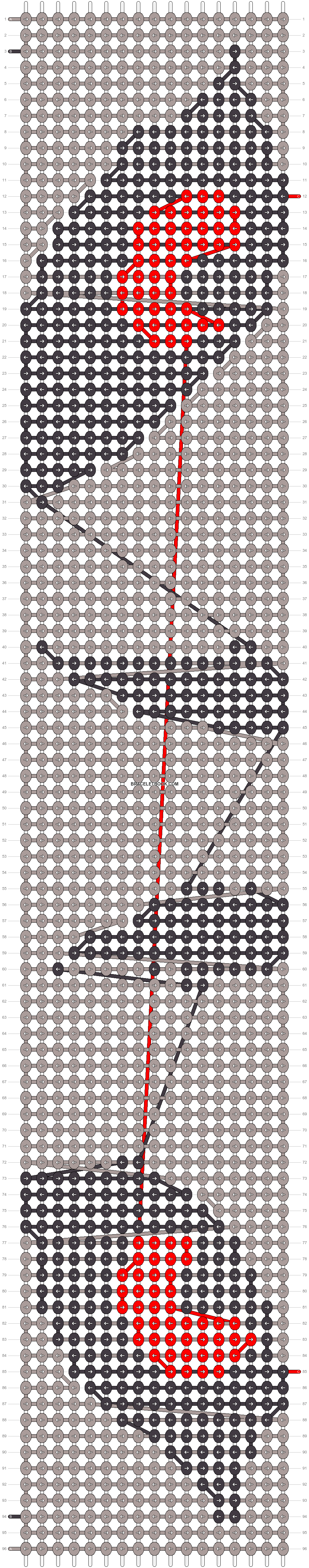 Alpha pattern #15037 variation #25212 pattern