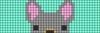 Alpha pattern #22880 variation #25484