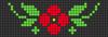 Alpha pattern #33800 variation #25489