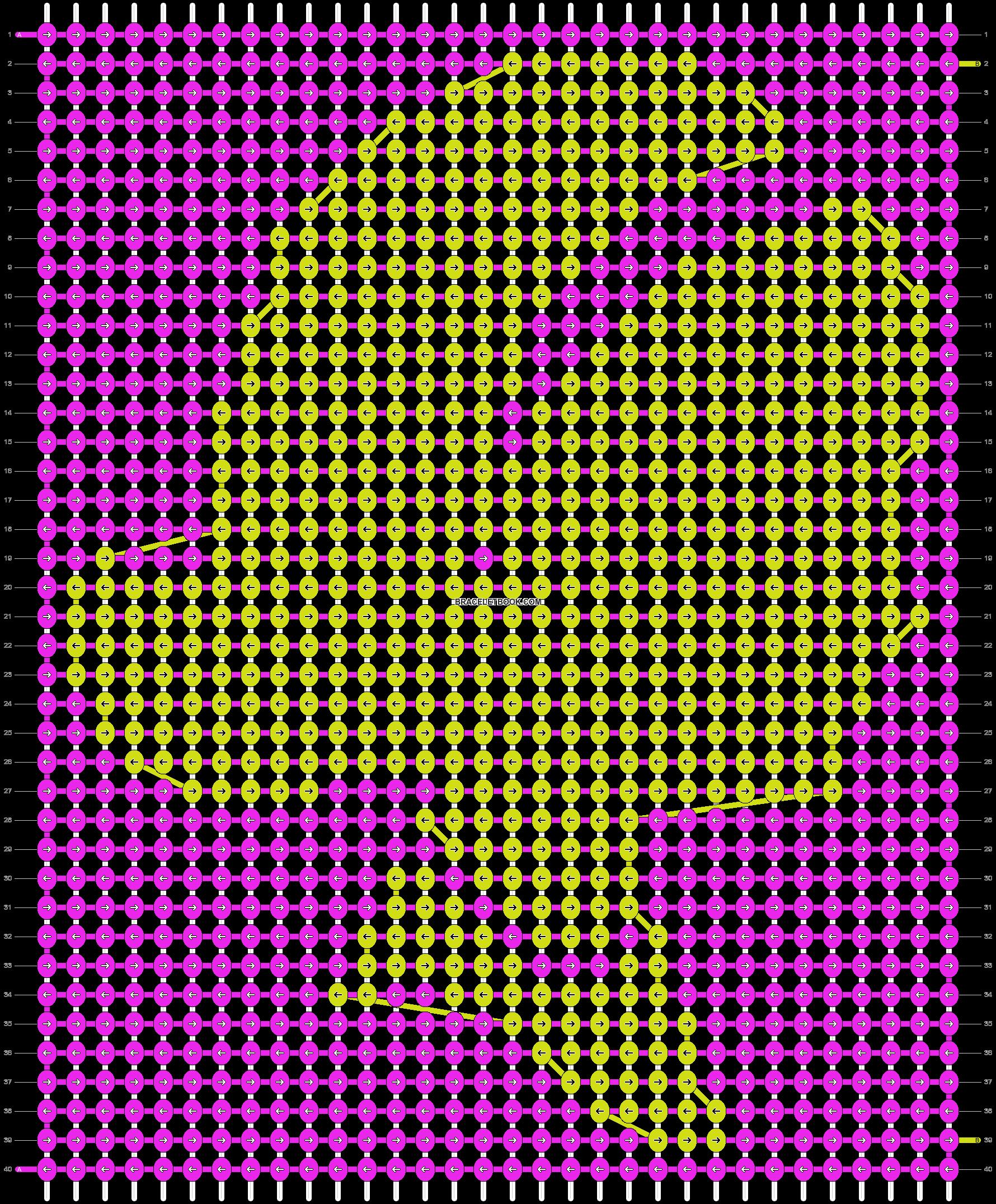 Alpha pattern #11883 variation #25770 pattern