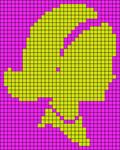 Alpha pattern #11883 variation #25770