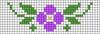 Alpha pattern #33800 variation #25787