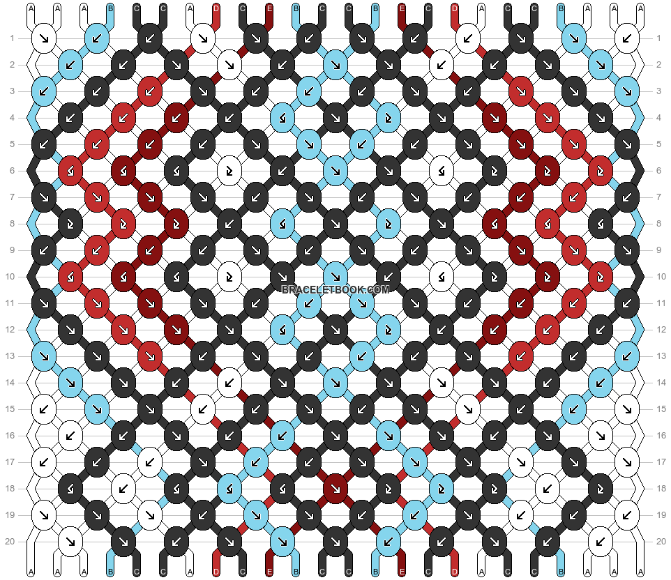 Normal pattern #26671 variation #26727 pattern