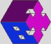 Alpha pattern #34418 variation #28258