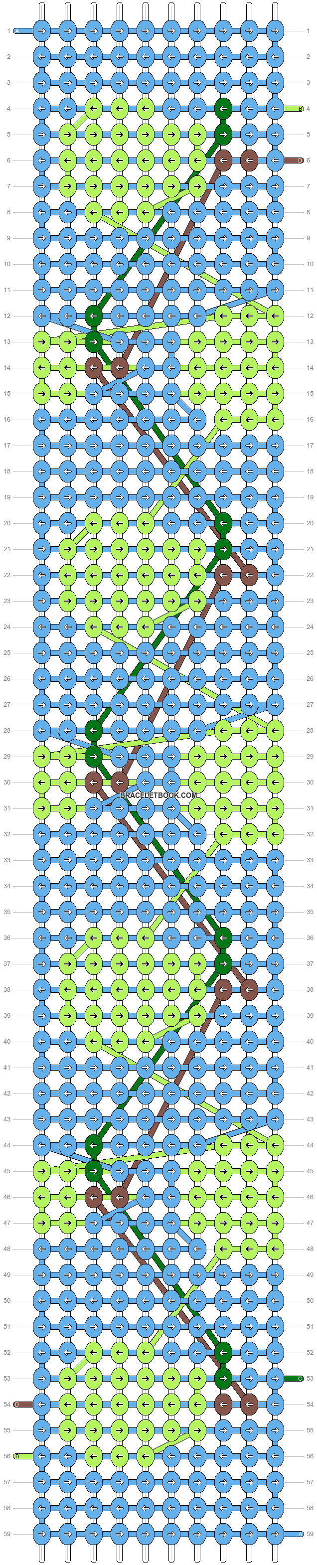 Alpha pattern #34311 variation #28543 pattern