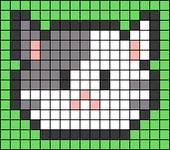 Alpha pattern #34564 variation #28785