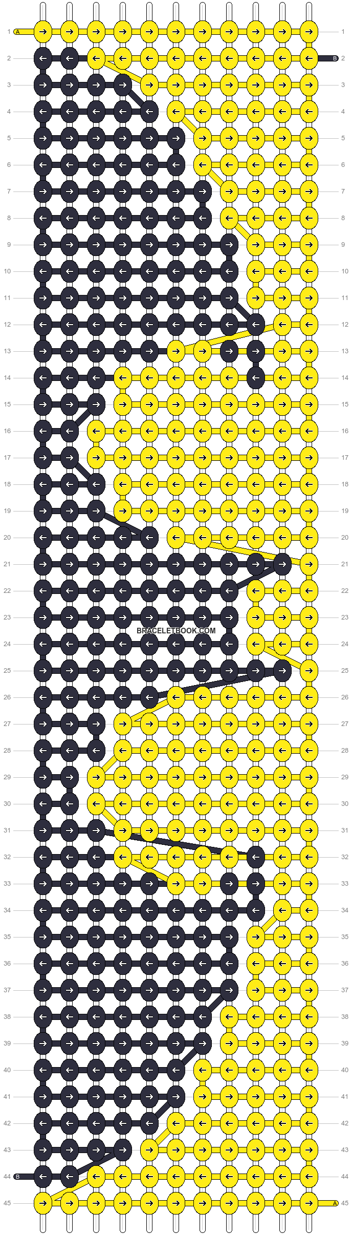Alpha pattern #17795 variation #28985 pattern
