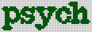Alpha pattern #3180 variation #29010
