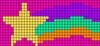 Alpha pattern #18687 variation #29310