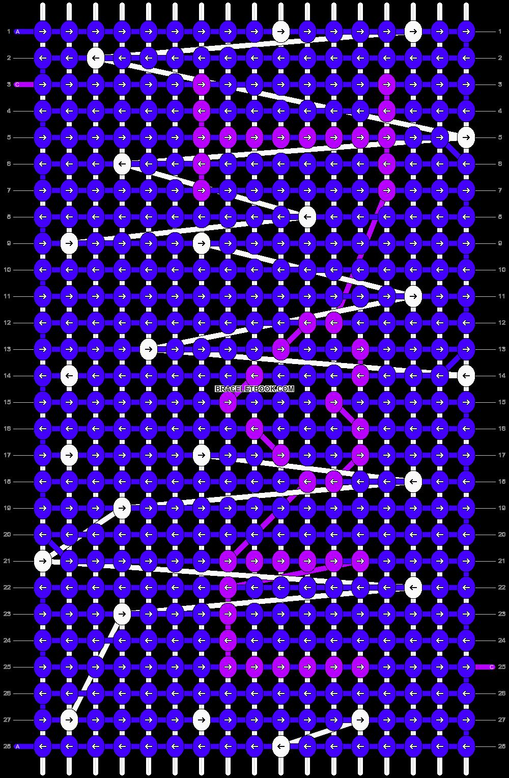 Alpha pattern #9664 variation #29377 pattern