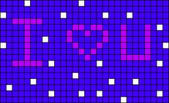 Alpha pattern #9664 variation #29377