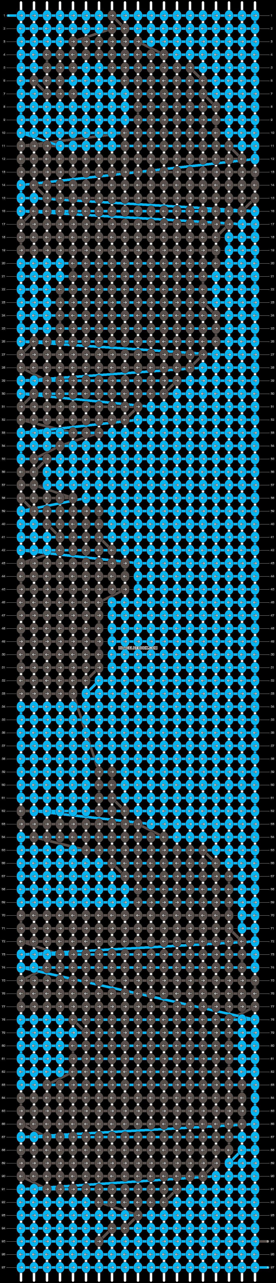 Alpha pattern #13611 variation #29548 pattern