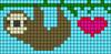 Alpha pattern #24594 variation #29704