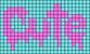 Alpha pattern #32833 variation #30490
