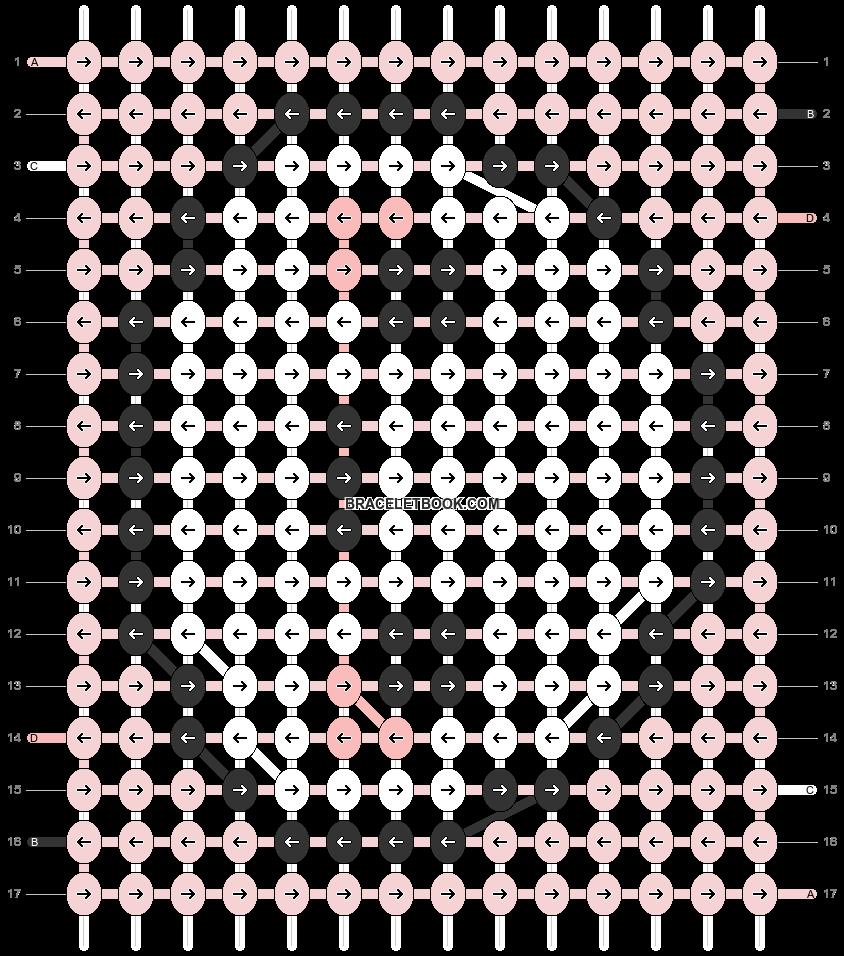 Alpha pattern #32682 variation #30632 pattern