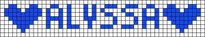 Alpha pattern #2630 variation #30872