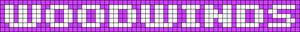 Alpha pattern #6856 variation #31608