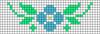 Alpha pattern #33800 variation #31688