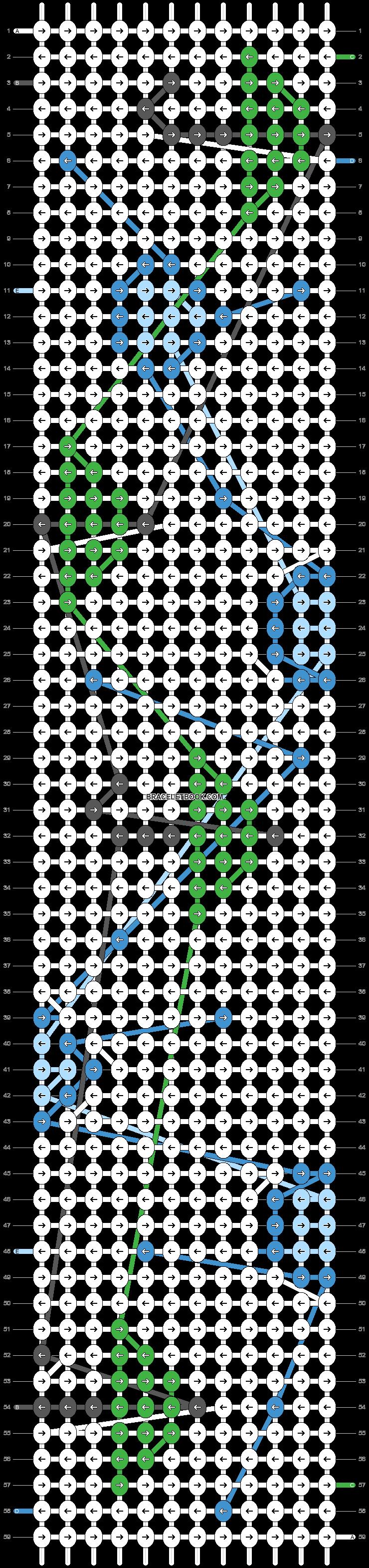 Alpha pattern #35447 variation #32178 pattern