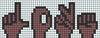 Alpha pattern #35454 variation #32335
