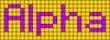 Alpha pattern #696 variation #32415
