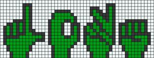 Alpha pattern #35454 variation #32579
