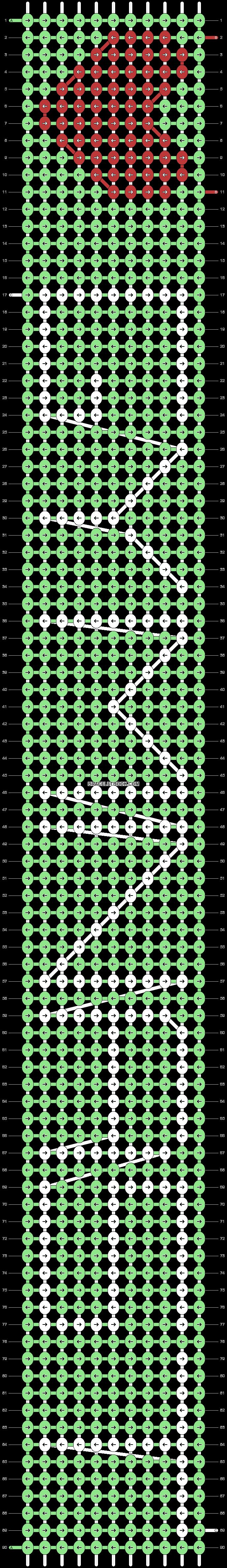Alpha pattern #18175 variation #33084 pattern