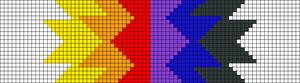Alpha pattern #35556 variation #33196