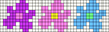 Alpha pattern #35808 variation #34025
