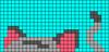Alpha pattern #34270 variation #34060