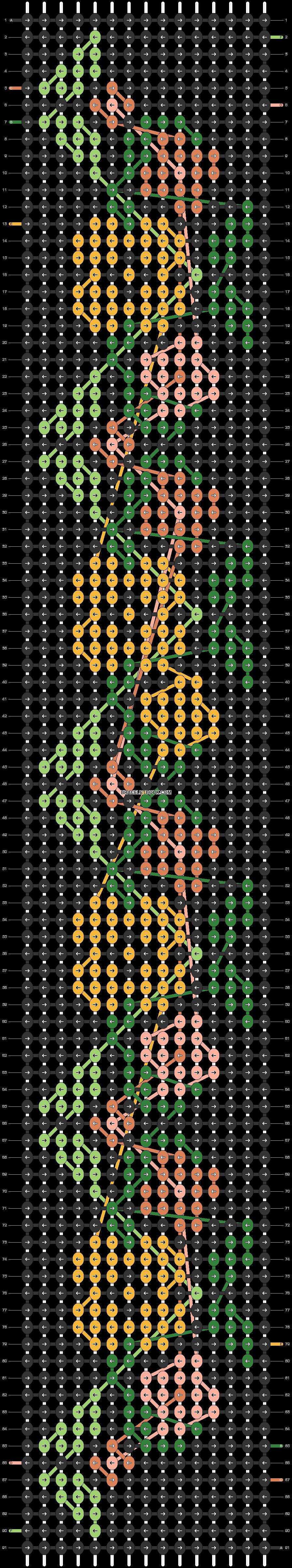 Alpha pattern #20932 variation #34128 pattern