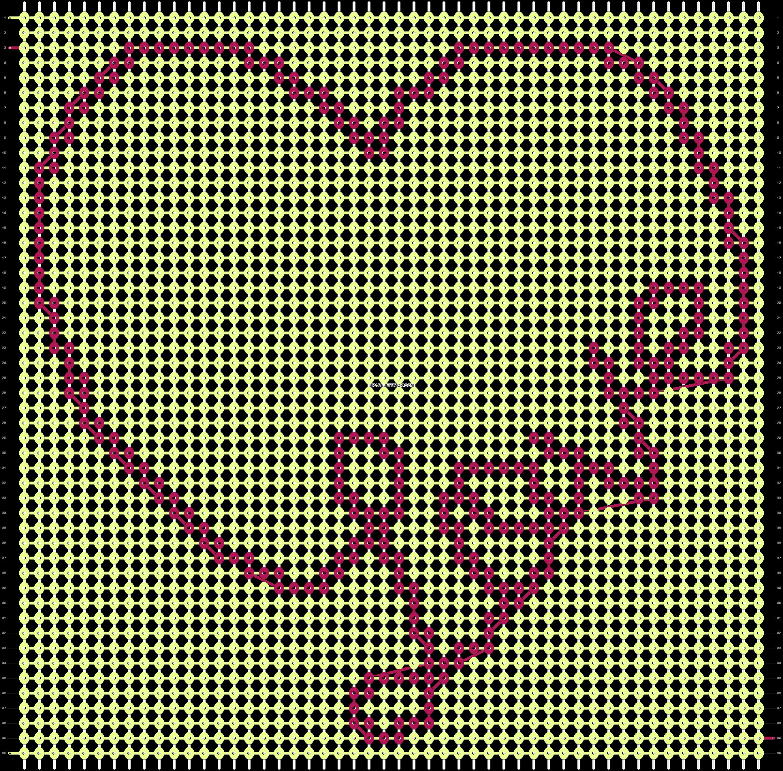 Alpha pattern #35994 variation #34537 pattern
