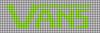 Alpha pattern #27652 variation #34706
