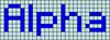 Alpha pattern #696 variation #34988