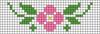 Alpha pattern #33800 variation #35442