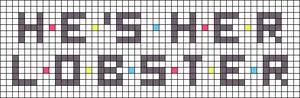 Alpha pattern #35717 variation #36691