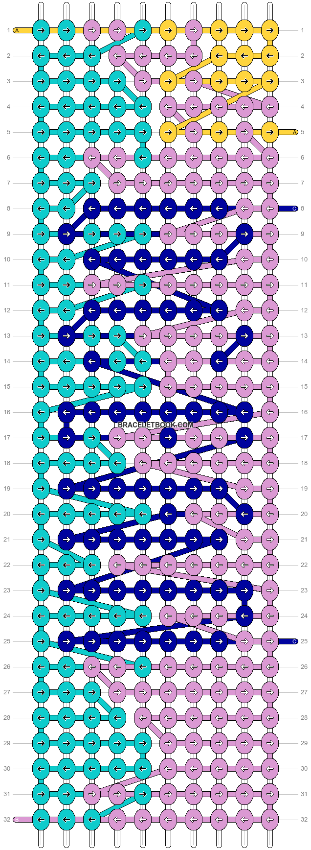 Alpha pattern #10369 variation #36840 pattern