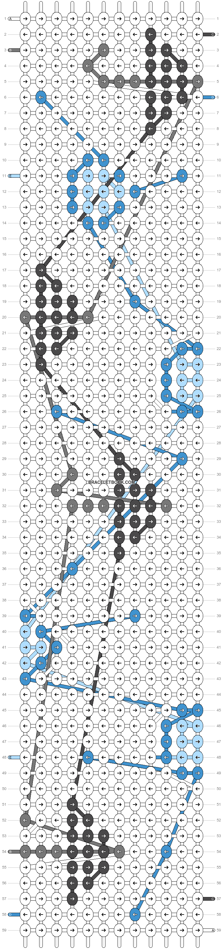 Alpha pattern #35447 variation #37052 pattern
