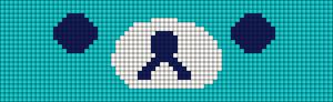 Alpha pattern #8590 variation #37118