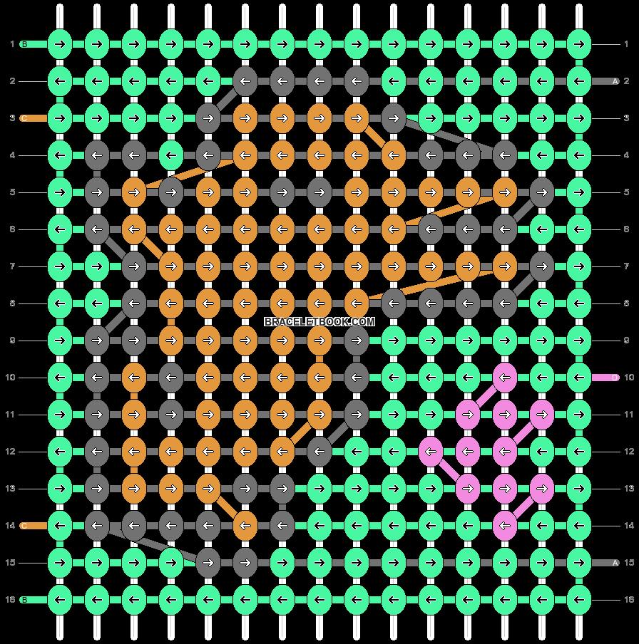 Alpha pattern #36619 variation #37160 pattern