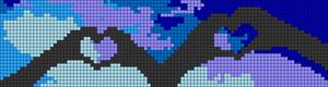 Alpha pattern #18042 variation #37280