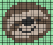 Alpha pattern #36707 variation #37363