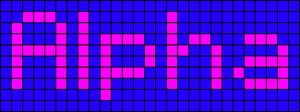 Alpha pattern #696 variation #37597