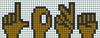 Alpha pattern #35454 variation #37678
