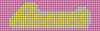 Alpha pattern #36848 variation #37783