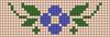 Alpha pattern #33800 variation #37896