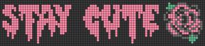 Alpha pattern #12217 variation #38217