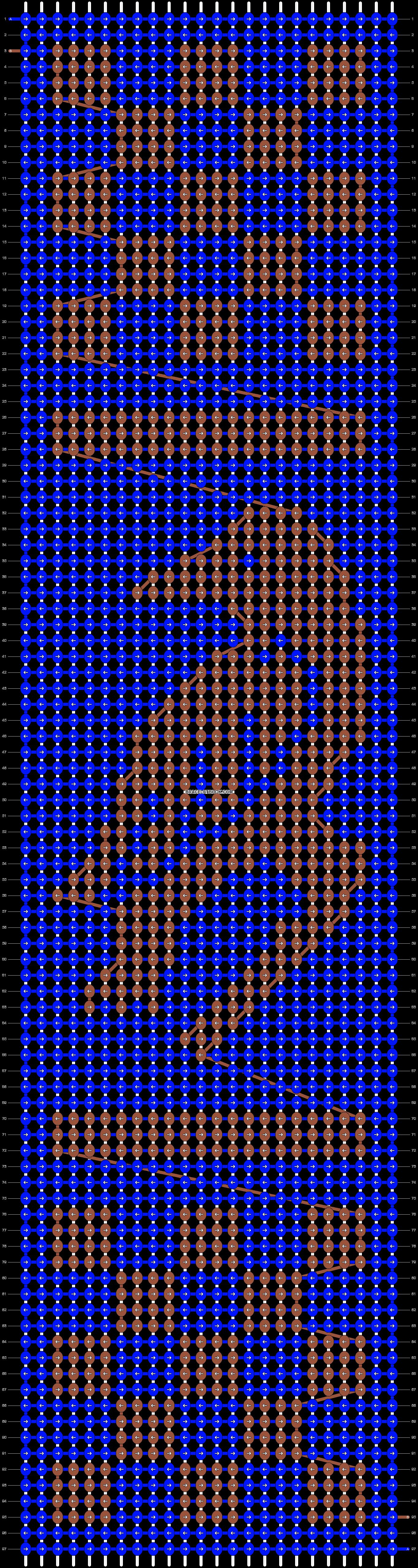 Alpha pattern #37052 variation #38581 pattern