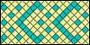 Normal pattern #37125 variation #39022