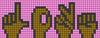 Alpha pattern #35454 variation #39230